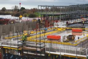 Craigavon's new £35m leisure centre takes shape