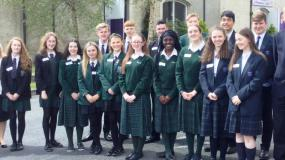 New-Bridge pupils enjoy their royal appointment!