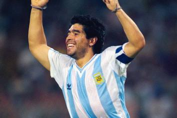 Diego Maradona has died