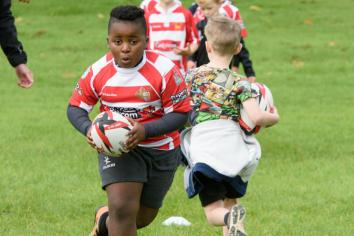 Mini Rugby at Randalstown RFC is not just child's play!