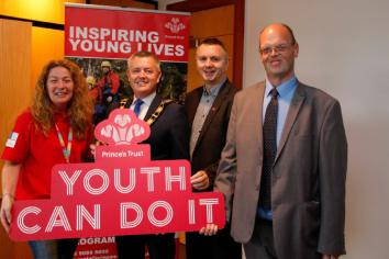 Prince's Trust launches pilot projects in Antrim