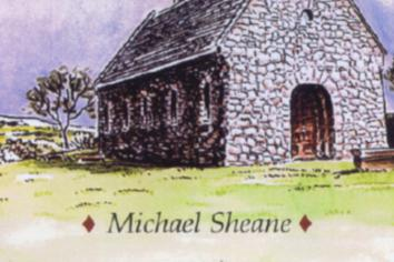 With almost 30 books, Michael is Antrim's real-life Paperback Writer