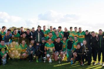 Creggan take senior league crown