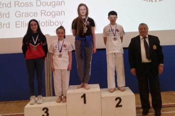 Antrim's karate kids strike gold