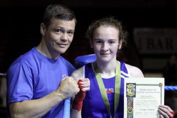 Antrim's Nicole is boxing clever