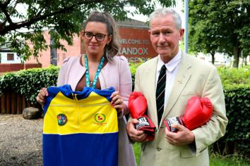 Boost for boxing club