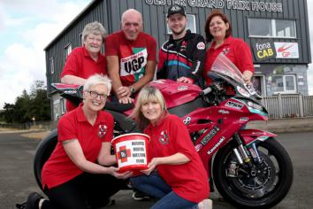 Almost £14,000 raised for injured riders at the UGP