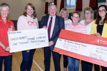Mervyn's surprise party raises £2,060 for two charities closest to his heart