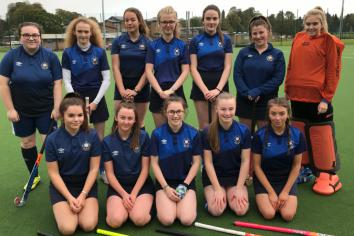 Under-18 hockey girls make history at Parkhall College