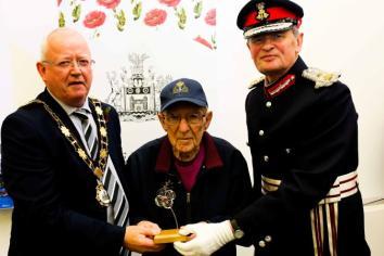 Council honours Borough's World War 2 veterans