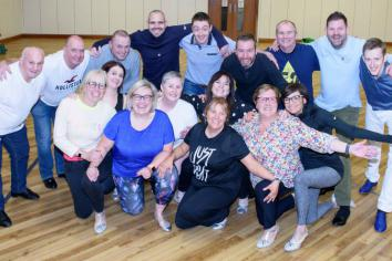 Staff and customers limber up for NI Children's Hospice fundraiser