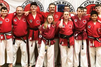 Ju-jitsu team tighten their belts!