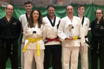 Silver medal for Antrim Taekwondo Club's Brian at British Championships