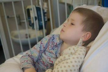 Parents set to 'give something back' after medics pull their boy back from the brink