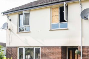 Police investigate 'arson'