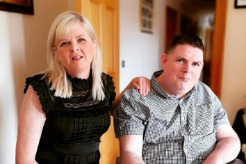 Hollywood star' s family gift wheelchair to Toome Kegworth survivor