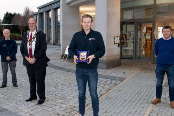 Templepatrick driver Boyd revs up for next challenge after podium place