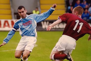 Almost 30 years after signing for Sky Blues, Antrim man is still with United!