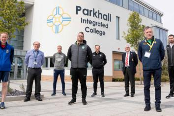 Parkhall Integrated College unveils 'exciting new sporting opportunities'