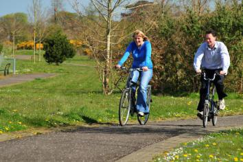 Locals urged to 'get on yer bike'