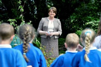 Arlene urges local students to 'hold onto your dreams'