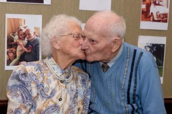 Randalstown couple 'reunited'