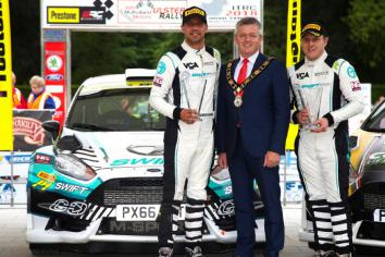 Antrim goes Ulster Rally crazy!