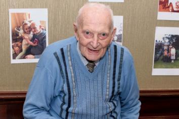James Nesbitt wishes Joe a happy 100th birthday!